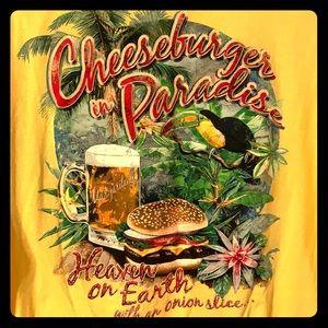 Jimmy Buffet Cheeseburger in Paradise T